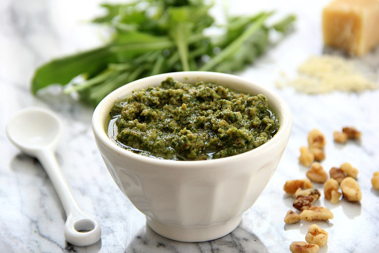 Arugula Walnut Pesto 2