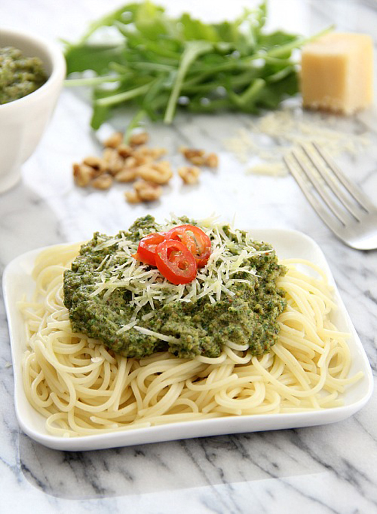 Arugula Walnut Pesto 6