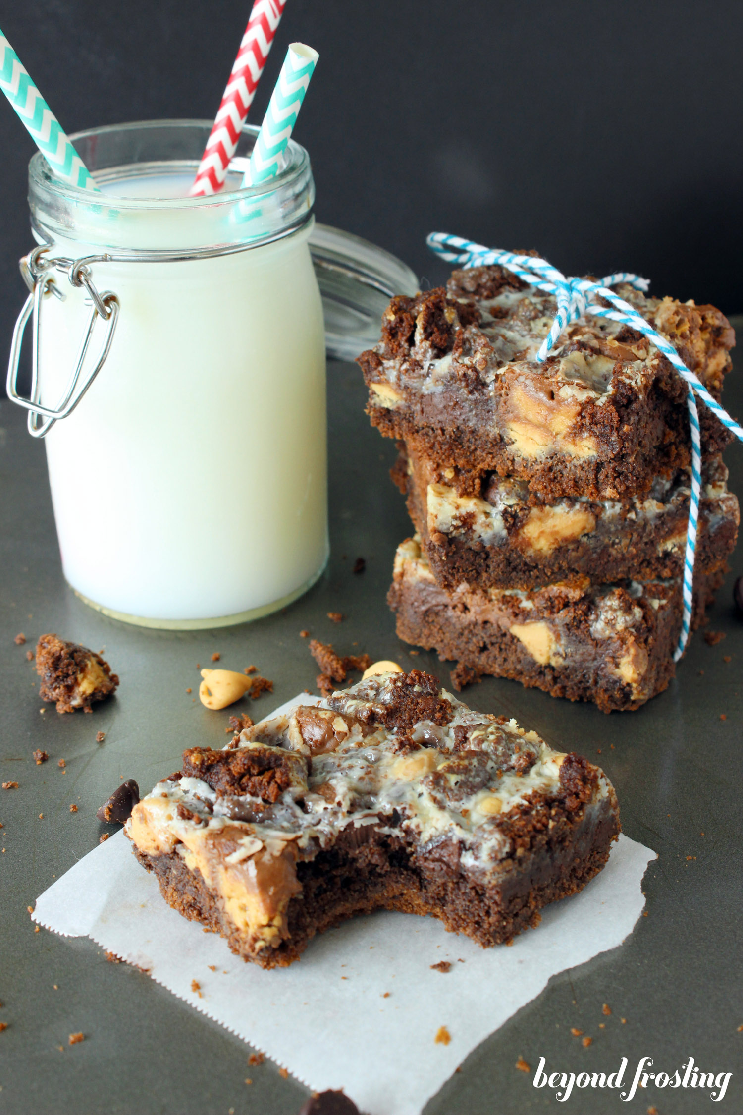 ... peanut butter whether you prefer chocolate or peanut butter these bars