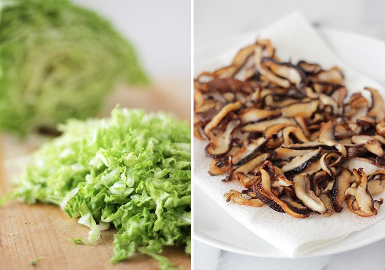 cabbage-mushrooms