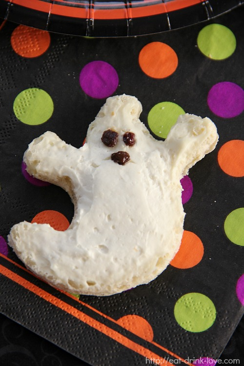 Cream Cheese Ghosts 3