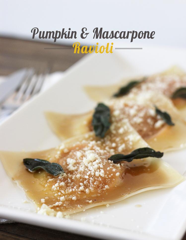 pumpkin-mascarpone-ravioli
