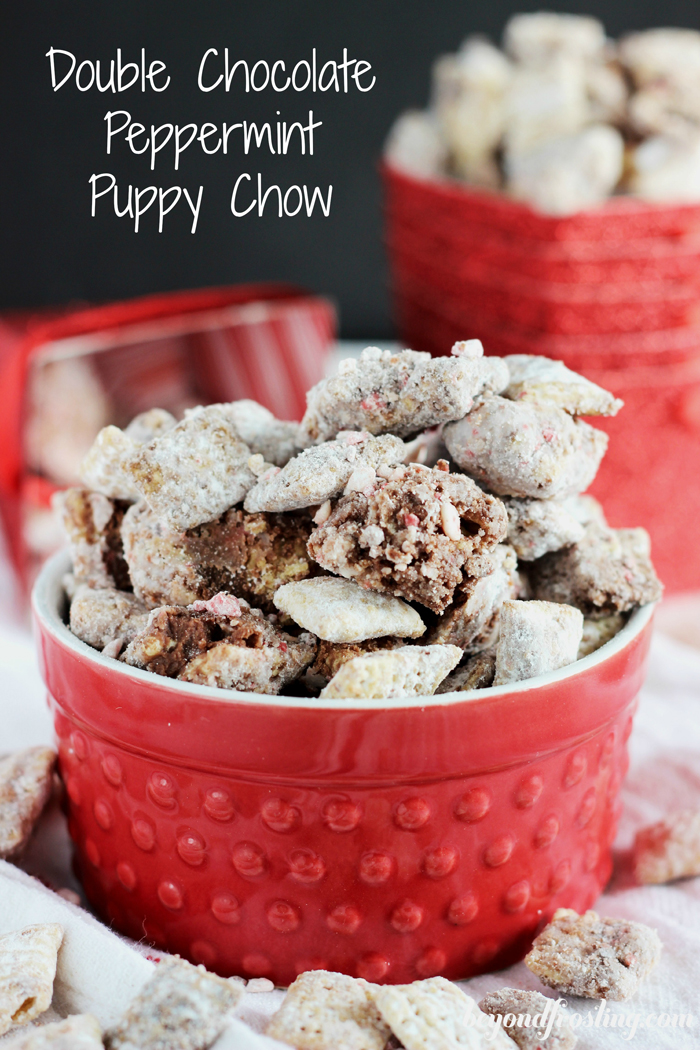 Peppermint puppy chow-1