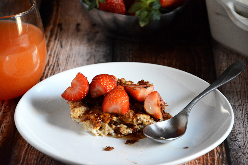 Creme Brûlée Baked Oatmeal | The Housewife in Training Files