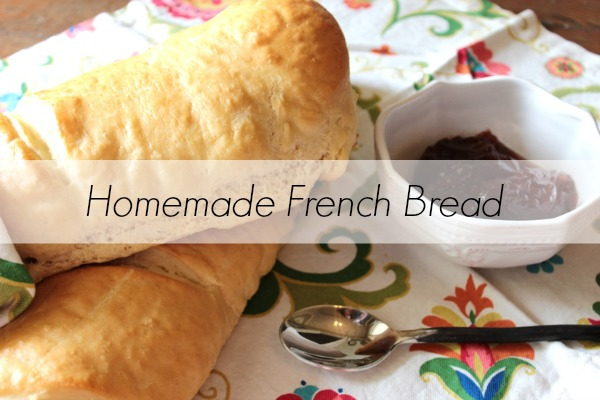 Simple and fool proof french bread recipe!