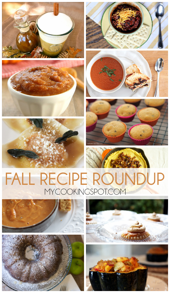 A round up of our favorite fall recipes!