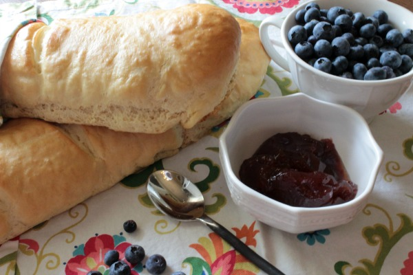 homemade french bread! Easy and quick!