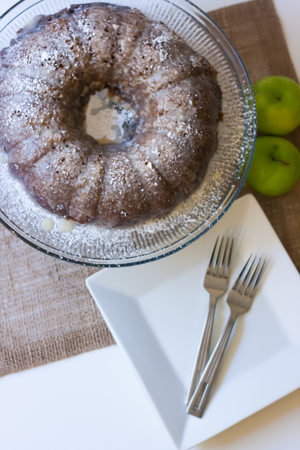 Oatmeal Apple Spice Cake is such an easy dessert to throw together. Perfect for any fall get together