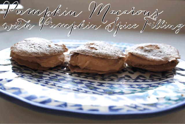 pumpkin-macarons