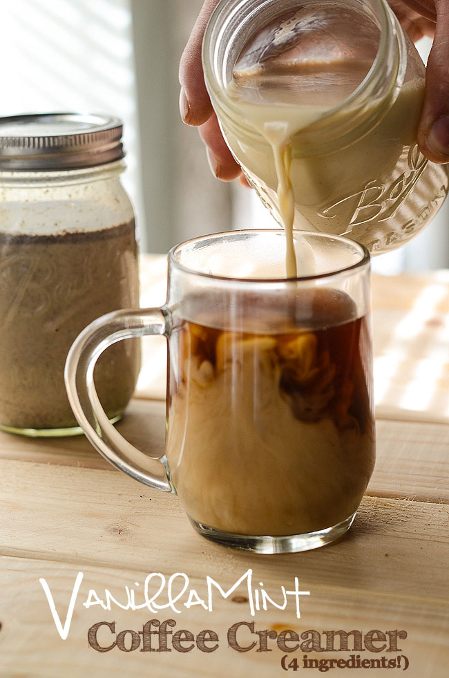VanillaMint Coffee Creamer