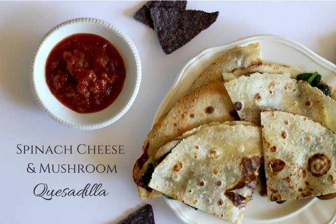 Spinach Cheese & Mushroom