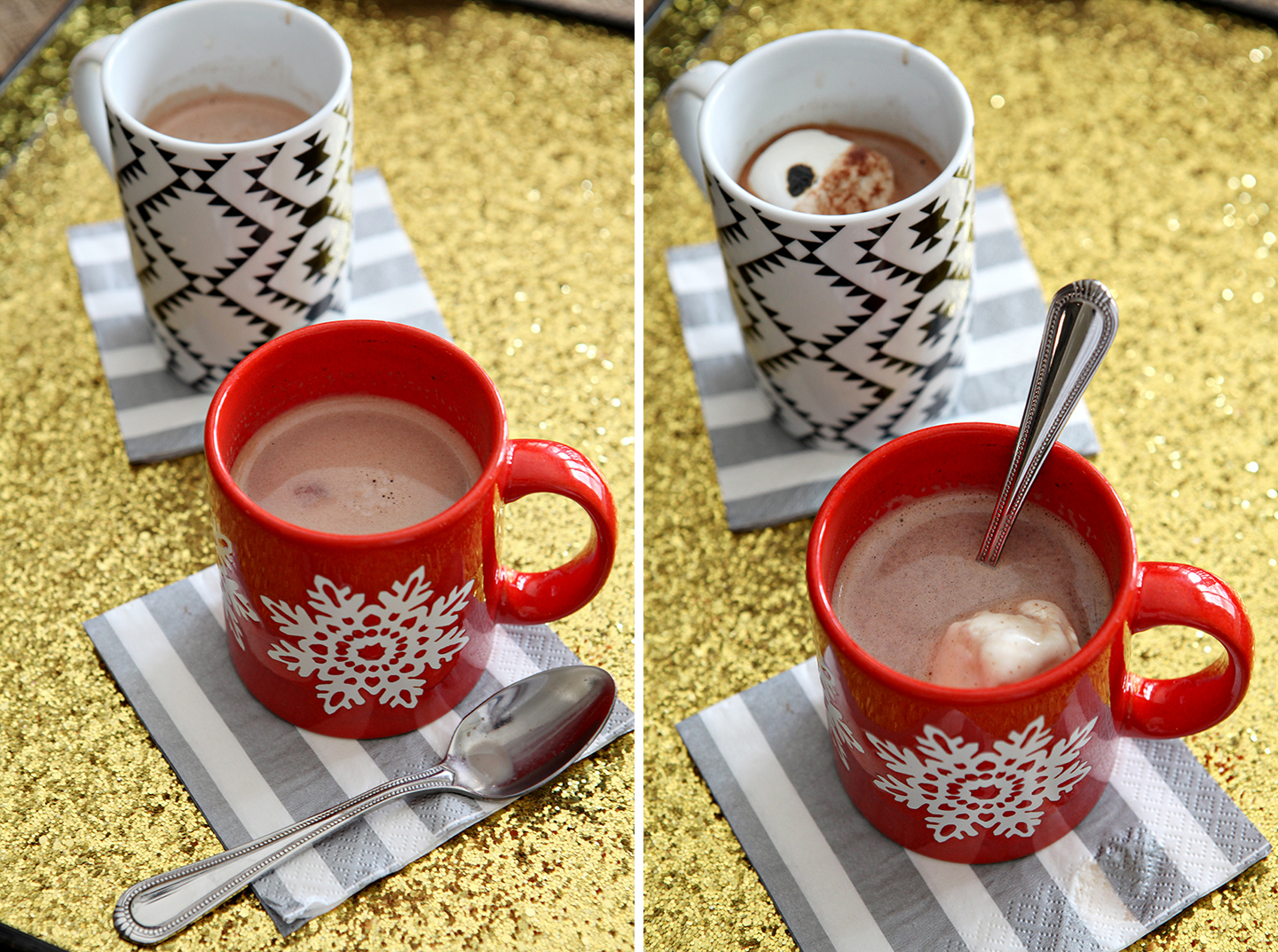 Vanilla Hot Chocolate // @speckledpalate for @mycookingspot