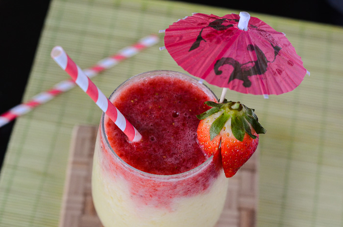 Strawberry Pina Colada Smoothie