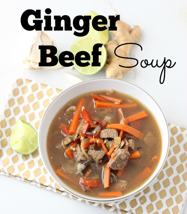 Ginger Beef Soup