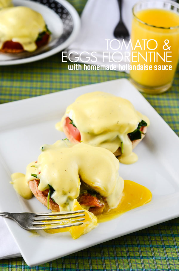 Tomato & Eggs Florentine | My Cooking Spot