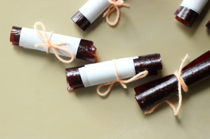 apple blueberry fruit leather