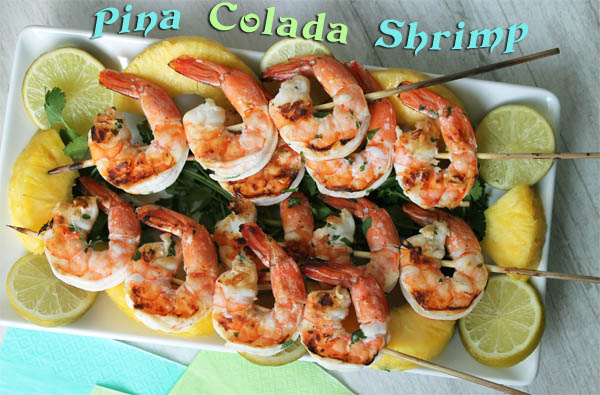 Pina Colada Shrimp main