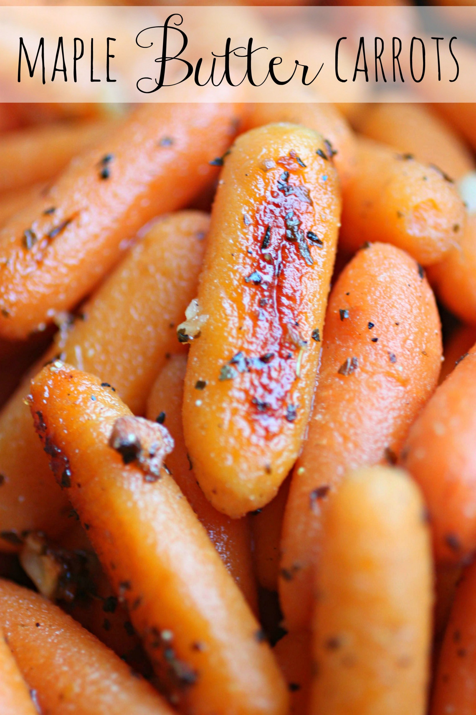 Maple Butter Carrots