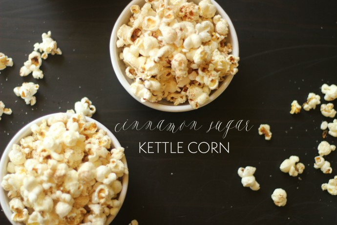cinnamon sugar kettle corn