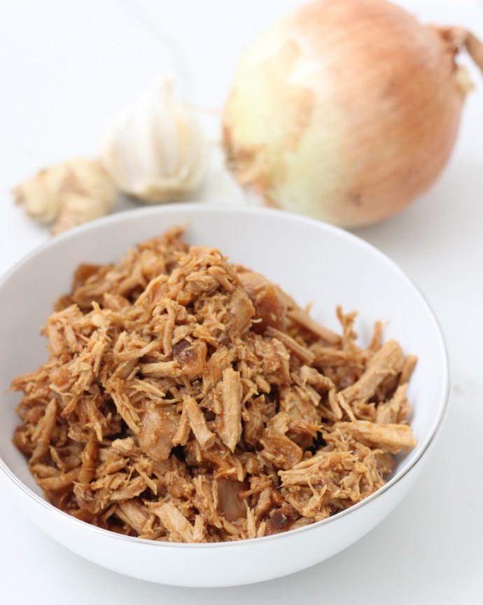 Crock Pot Garlic Ginger Pork