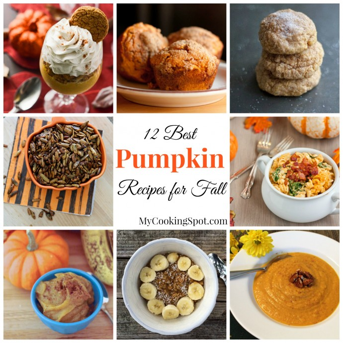 12 Best Pumpkin Recipes For Fall - My Cooking Spot