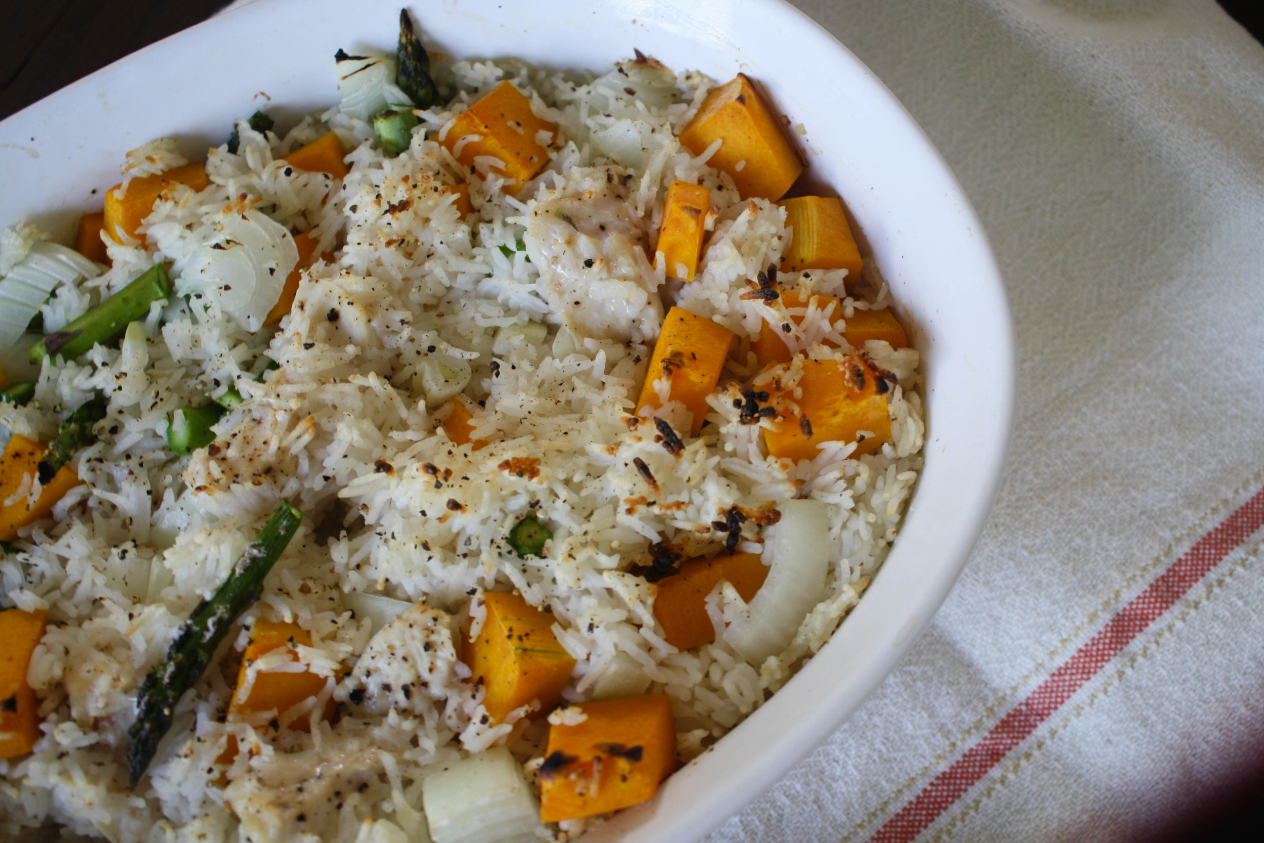 Fall Chicken and Rice Casserole Recipe