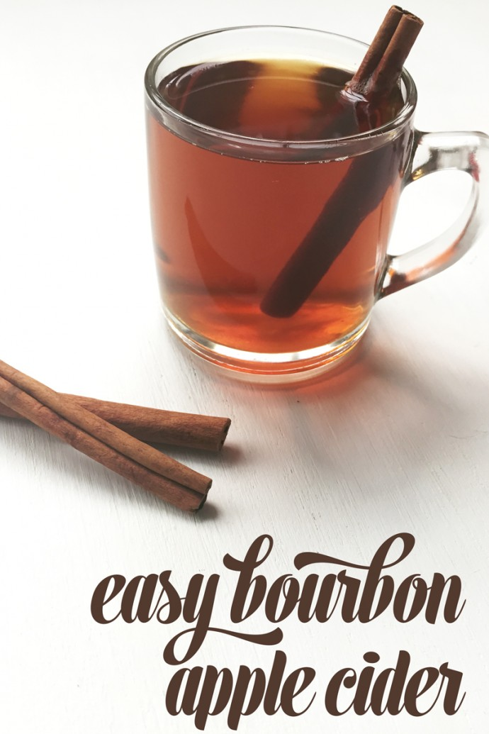 Bourbon Apple Cider | Feast + West for My Cooking Spot