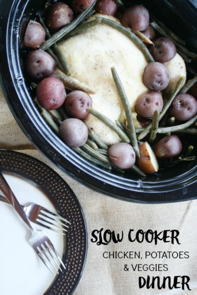 Slow Cooker Chicken Dinner 3