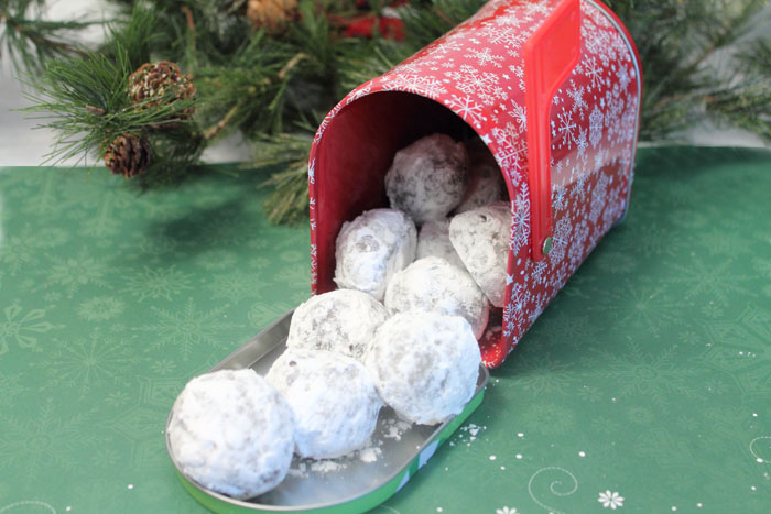 Chocolate Russian Tea Cake Snowballs special delivery