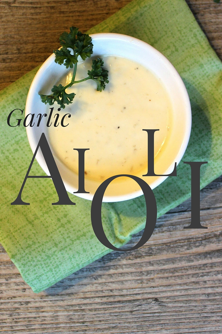 The perfect dip for french fries or spread for sandwiches. #recipe #garlic #glutenfree #dairyfree