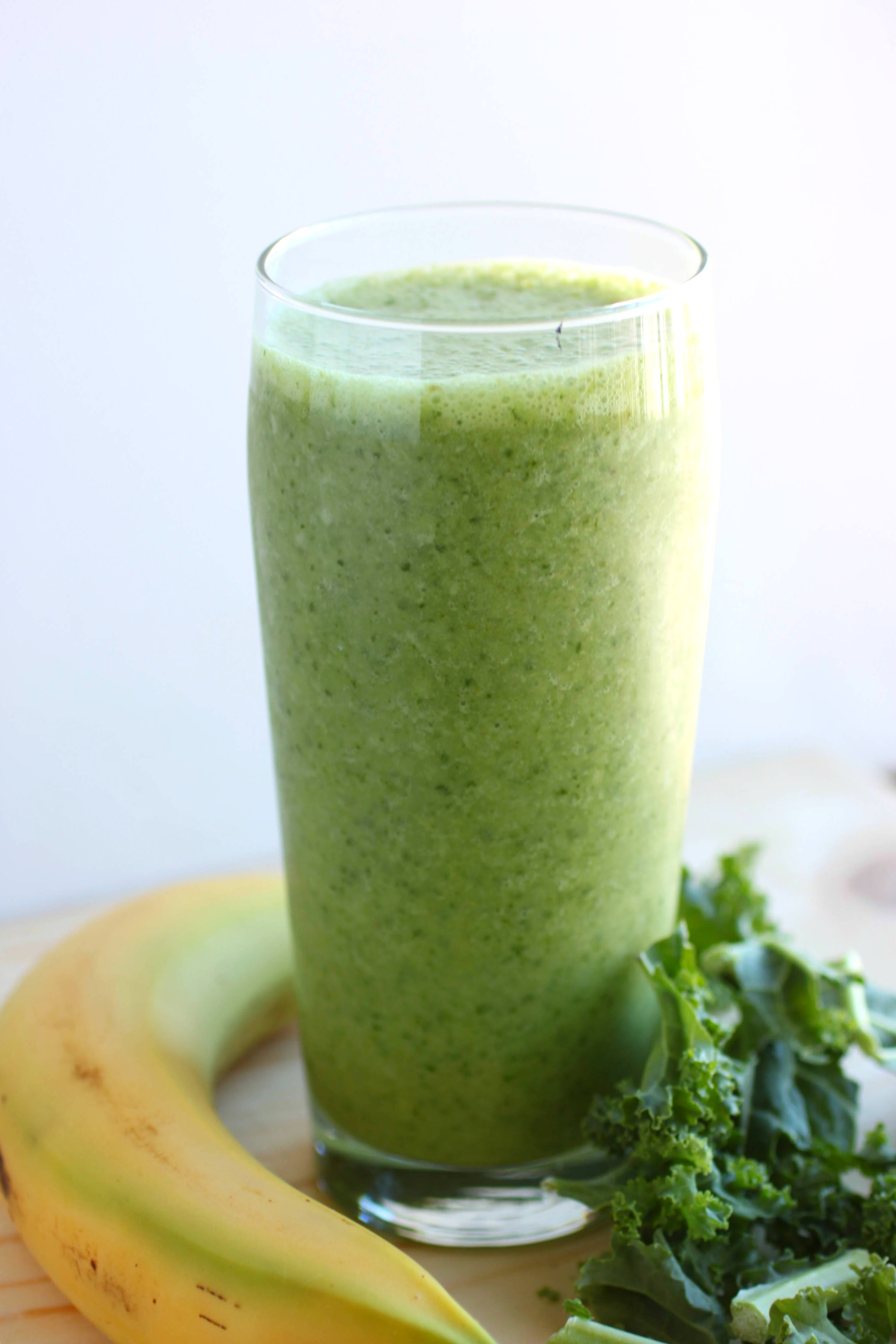 Kale and banana smoothie | My Cooking Spot