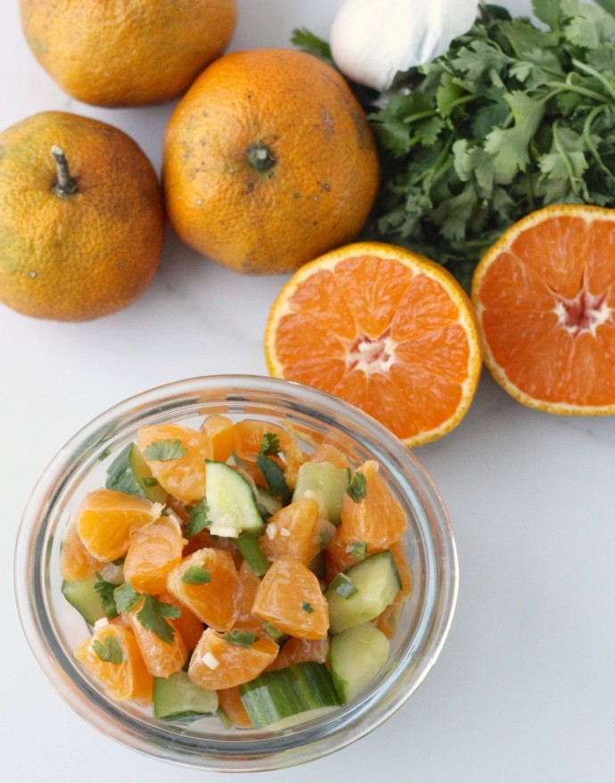 This salsa has 2 pounds of clementines (about 10 clementines) and a ...