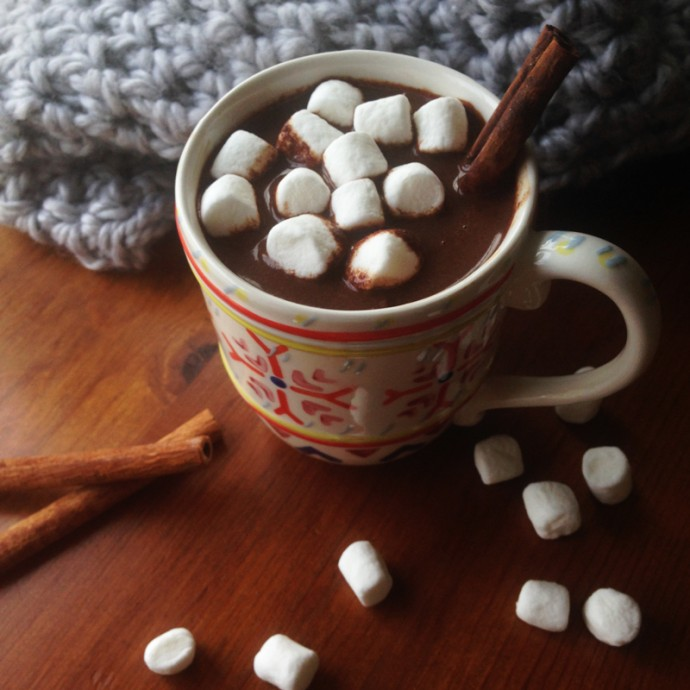 Mexican Hot Chocolate Mix, an easy, homemade holiday gift. // Feast + West