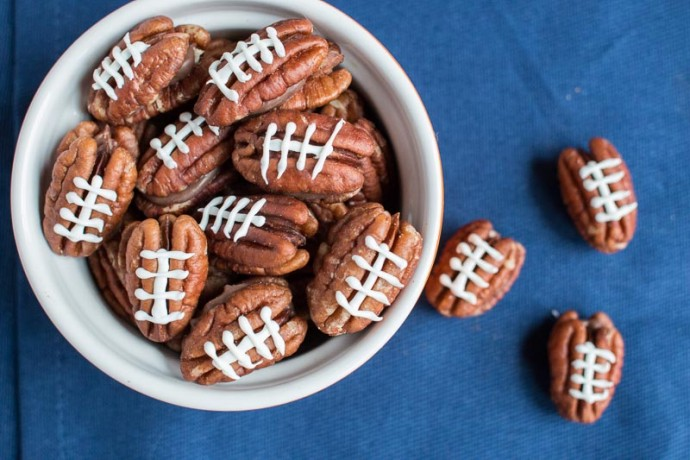 Chocolate Pecan Footballs - My Cooking Spot-1