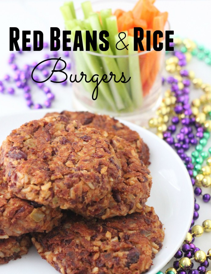 red beans and rice burger - 3
