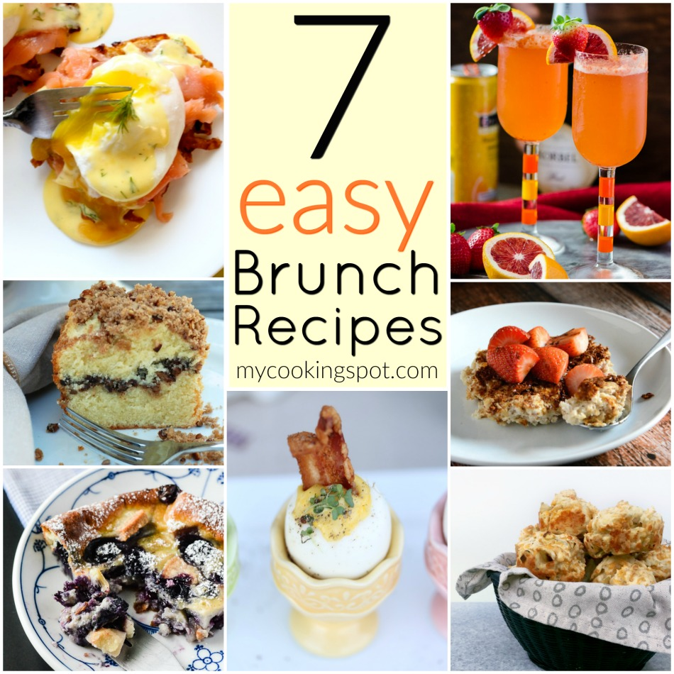 7 Easy Brunch Recipes - My Cooking Spot