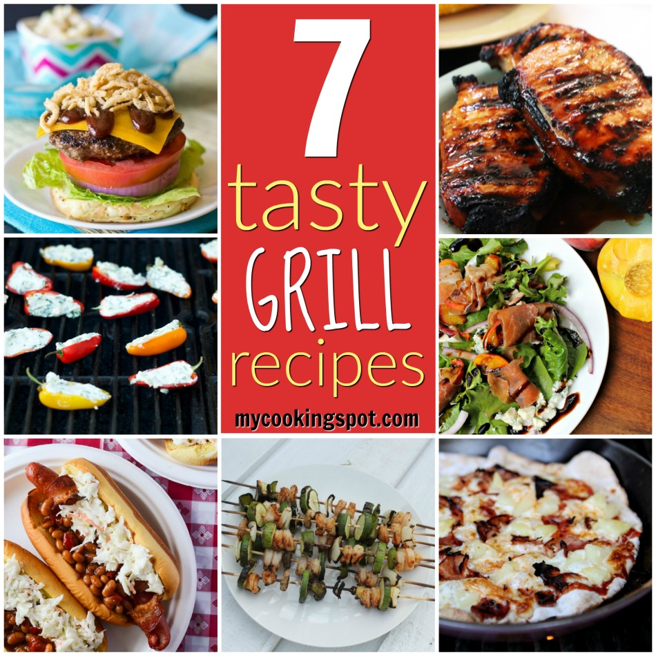 A Round-Up Featuring 7 Tasty Grill Recipes