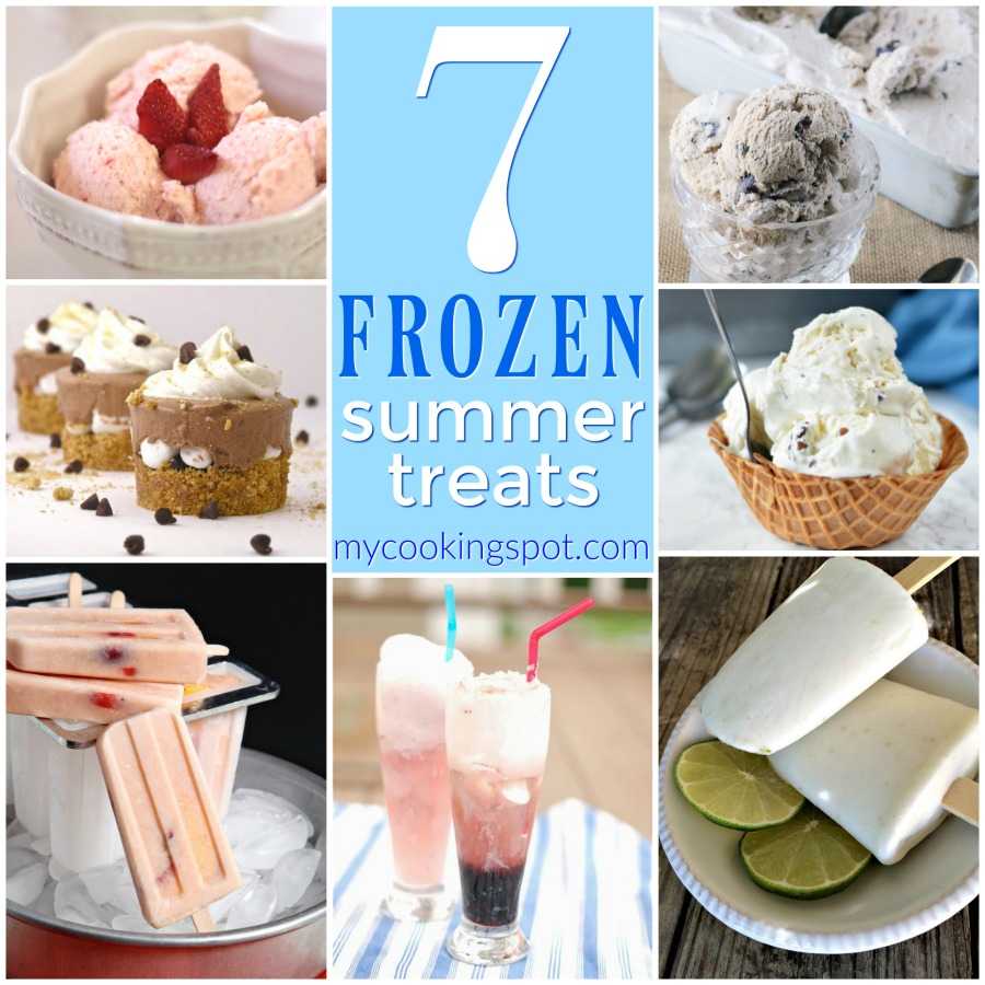 7 Frozen Summer Treats | My Cooking Spot