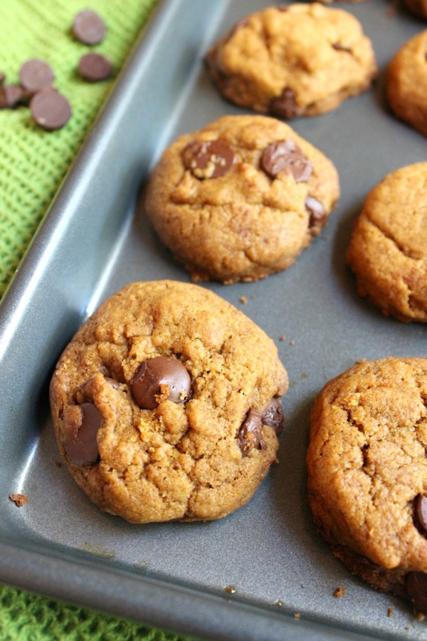 Chocolate Chip Pumpkin Spice Cookies   My Cooking Spot