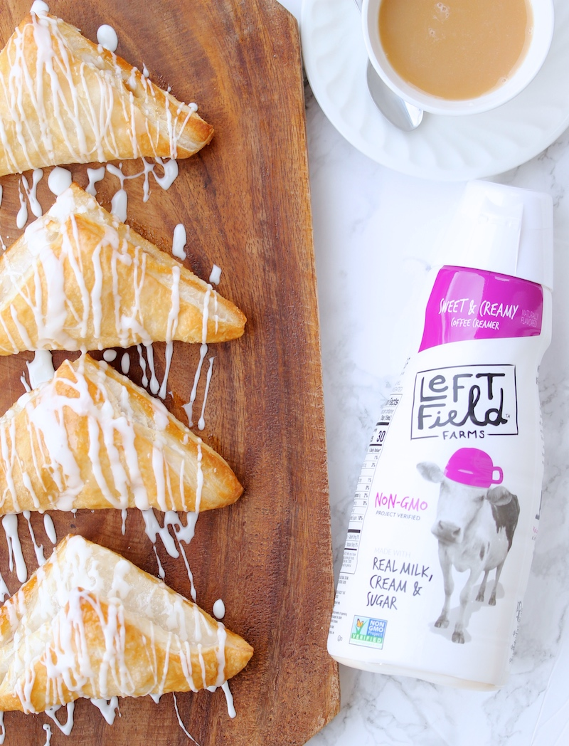 how to make icing for apple turnovers