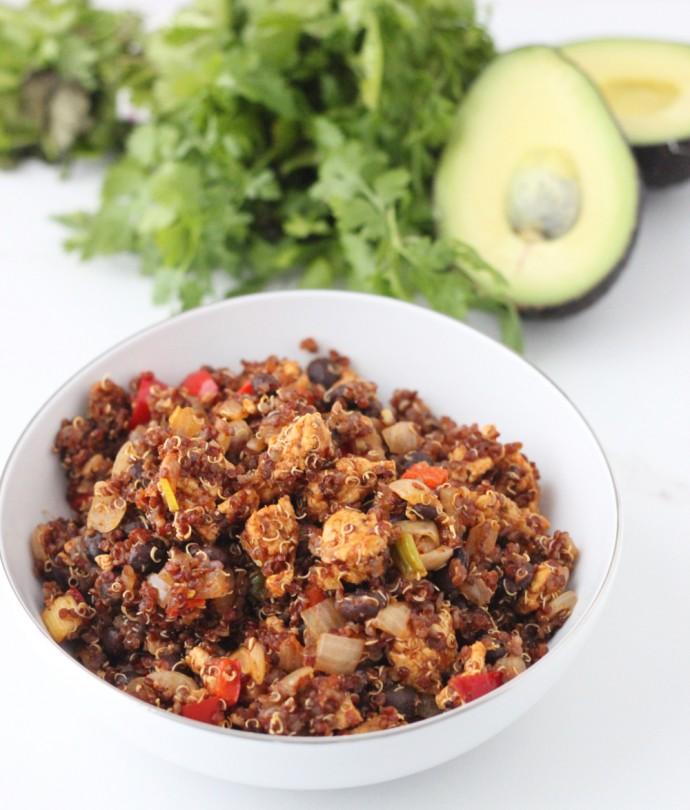 Mexican Fried Quinoa